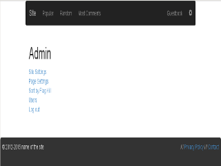 Admin Home Thumbnail
